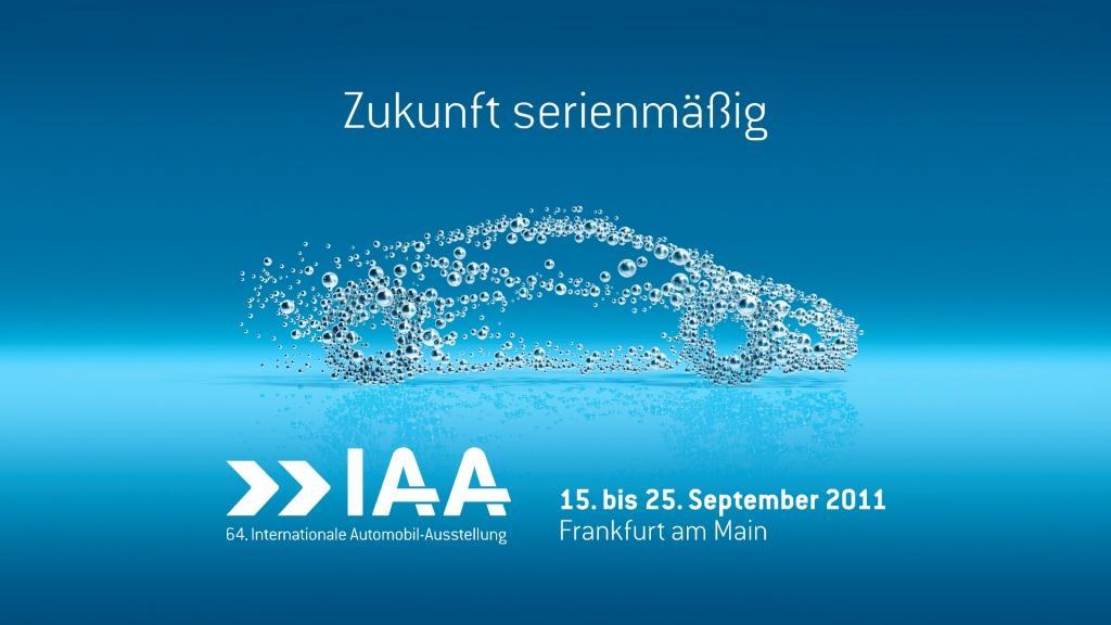 "Die IAA 2011 ""Zukunft serienmäßig"""