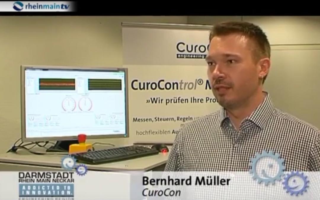 """CuroCon bei rheinmaintv """"Wirtschaft konkret"""""""